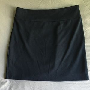 Navy Blue Banana Republic Skirt